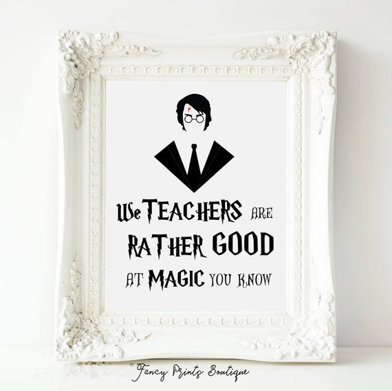 Harry Potter Quotes Love: Printable Quotes Harry Potter We Teachers Are Rather Good At