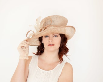 Kentucky Derby Hat, Church hat, Tea Party Hat, Purple Hat, Fashion Hat, Church Hat, Derby Hat, Fancy Hat, Kentucky Derby Hat