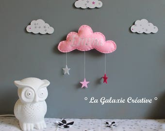 Cloud personalized with your child's name