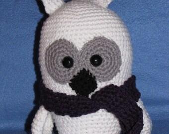 Amigurumi Blizzard the Snowy Owl Crochet Pattern