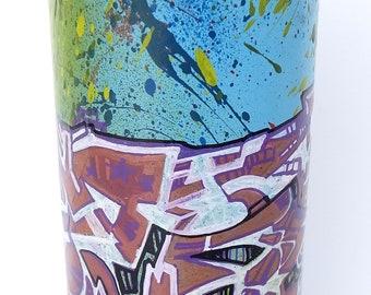 "Spray paint marker ingericht: ""Techno-Graff"""