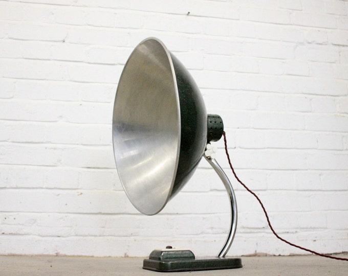 Large Mid Century French Medical Desk Lamp