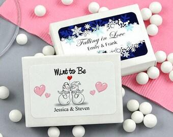 Wedding Favors, Mint Box Favors, Bridal Shower Favors - Set of 24