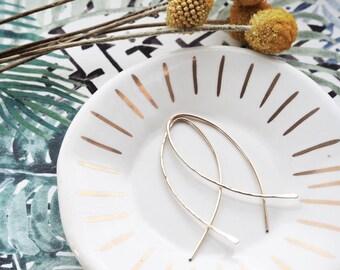 Fish Hoop Earrings, Gold Hoop Earrings, Fish Earrings, Hoop Earrings, Gold Fish Earrings, Hoop Earrings Gold, Fish Earrings Gold, Gold