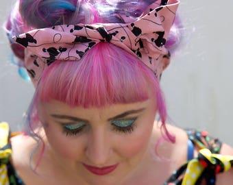Poodle Wire Headband, Poodle, Poodles, Poodle Headband, Wire Headband, Poodle Fabric, Poodle Gifts