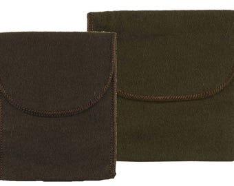 Anti-Tarnish Pouch with Flap Closure - Your Choice of 2 Sizes