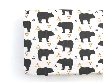 Changing Pad Cover Bears and Triangles. Change Pad. Changing Pad. Bear Changing Pad Cover. Changing Pad Boy.