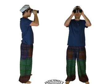 Harem Pant with stripes and pockets