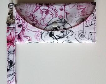 Princess Sketches Fold Up Wallet