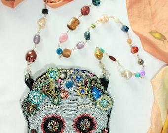 Exclusive Sugar skull bag