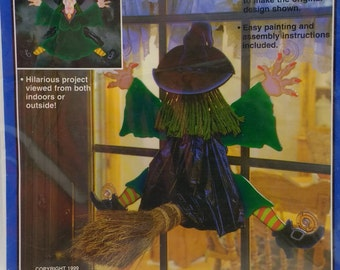 Splat WITCH SMASH Full Size Woodcraft Patterns Fun Easy To Make Projects from the Winfields Collections HC9 Hilarious project Inside or Out