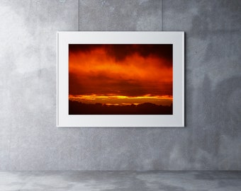 Sunset - Wall Art, Poster, Best Selling Items, Home Decor, Wall Decor, Printable Wall Art, Art Prints, Photography, Digital Download, Print