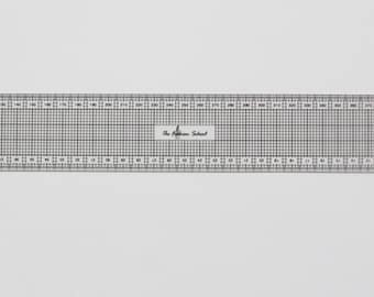 Pattern making grading ruler