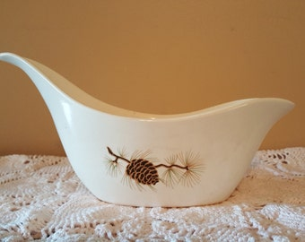 Eden Roc China Pinecone Gravy Boat