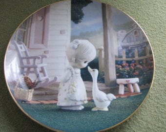 Precious Moments Decorative Plate Make a Joyful Noise The Hamilton Collection 1993