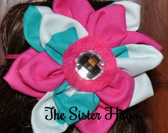 Made to Match Fabric Flower Headbands for ANY Dress in my Shop