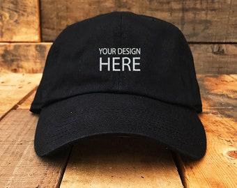 Black Floral Embroidered Hat - OS / BLACK I Saw It First Gkbm8