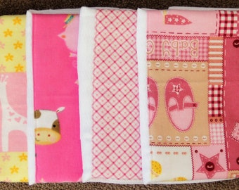 Burp Cloths - Set of 4 ~ #2G-1360