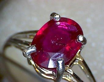 Beautiful Ruby Ring