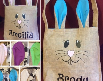 Personalized Easter Bunny Bag