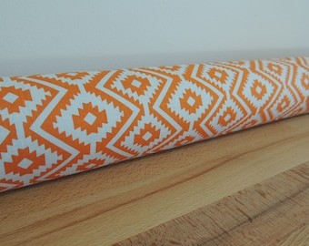 Draft Stopper. Modern room decor. Door or window snake. Draught excluder. House and home accessory.eco friendly energy saver.