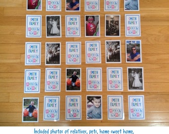Personalized Photo Memory Match Game Personalized With Your Own Pictures Great Gift