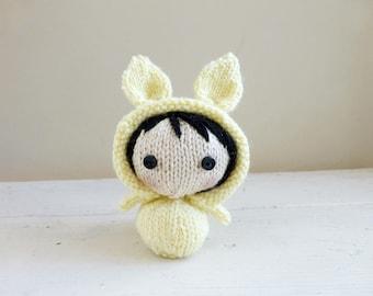 Bunny Baby Isabelle, small stuffed animal, bunny stuffed animal