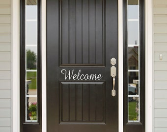 Personalized Welcome Decal