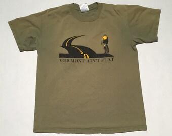 Vintage Vermont Ain't Flat T-Shirt