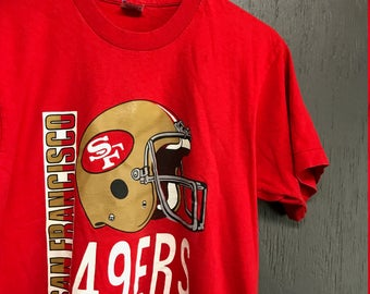 M vintage 80s/90s San Francisco 49ers t shirt