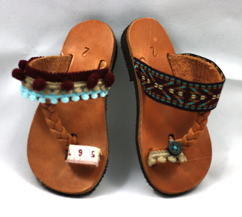 Mädchen Sandalen Baby barfuss Sandalen handgemachte