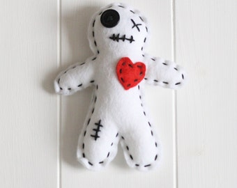 Make Your Own Voodoo Doll Kit, Felt Voodoo Doll Sewing Kit, Voodoo Doll Kit, Sew your own Voodoo Doll
