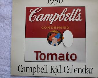 1990 Campbell Soup Kids Calendar