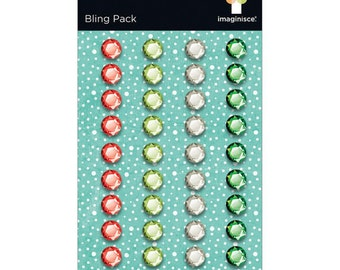 Imaginisce Christmas Bling Pack 40 pieces