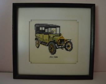 Vintage 1915 Ford Hand Netted