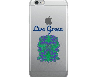 Live Green iPhone Case