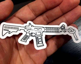 Gun Control Sticker - Enough Is Enough