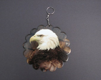 Bald Eagle Wind Spinner