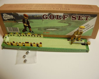 GOLFER-TIN TOY- Reproduction-Made in India----Appears Brand New in Kraft Box-