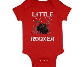 Little Rocker baby grow
