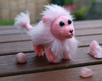 Pink Lion - SU inspired beanie plush SALE