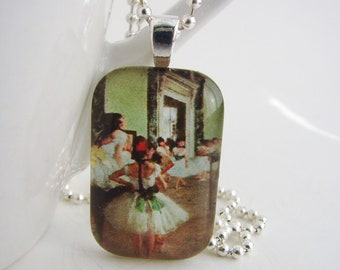 The Dance Class Pendant with Free Necklace