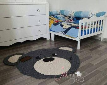 Nursery area rug Etsy