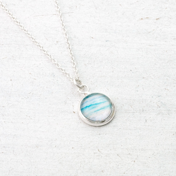 Tiny Ocean Necklace