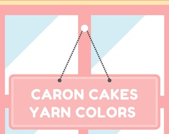 Caron Cakes Yarn Colors