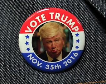 VOTE TRUMP on November 35th 2016 | SNL Parody Alec Baldwin Saturday Night Live Debates