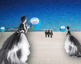 Note Cards Dancers Dream of Time Travelers