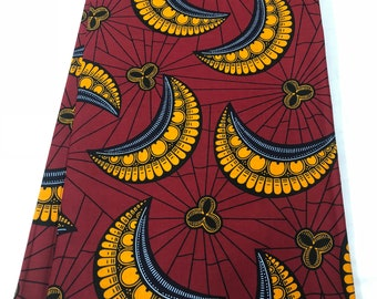 African Fabrics 6 Yards /Ankara Prints/African Wax Prints/African Print Fabrics/100% Cotton