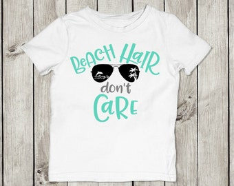 Youth Beach Hair Don't Care T-Shirt