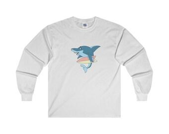 Surfin Shark Long Sleeve Tee